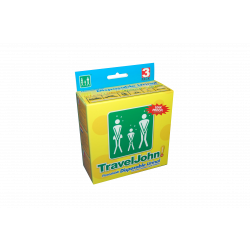 TravelJohn Unisex Disposable Urinal