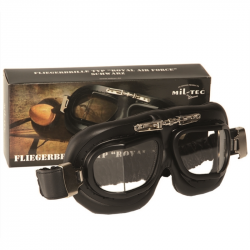 RAF Aviator Goggle, black metal