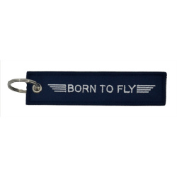 Born To Fly Keyring